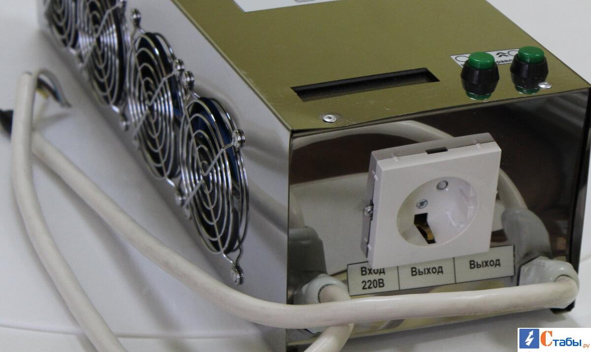 Инверторный стабилизаторы Электроника 6000