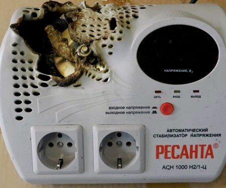 Сгорела Ресанта АСН 1000