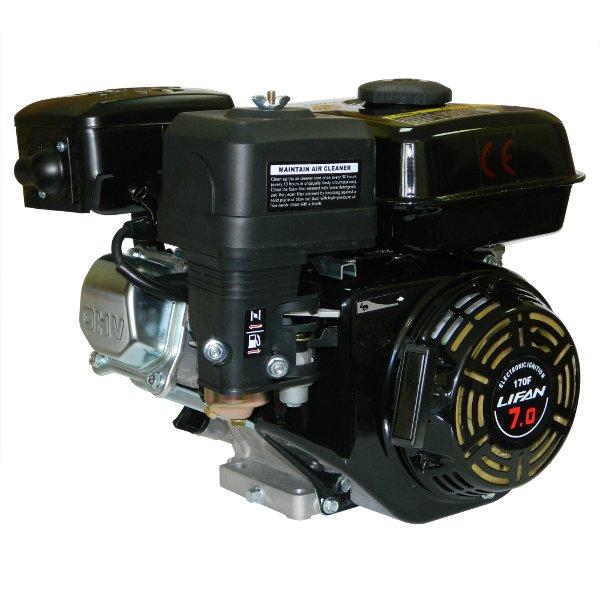 Двигатель бензиновый partner 170f 7,0 л. С. 19 вал с шкивом купить.